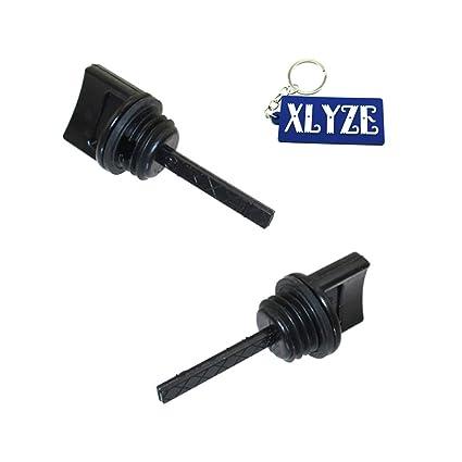 XLYZE varilla de nivel de aceite 2pcs para Honda 15600-ZE1-003 GX110 GX120