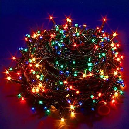 Luci Albero Natale.Minilucciola Minilucciole Luci Albero Natale Led 180 Multicolor 8 Funzioni Interno 750434