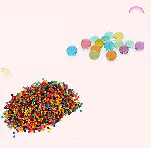 GZQ Water Beads, 5000PCS Water Gel Beads Jelly Water Pearl for Vase Filler Aqua Plant Wedding Decoration