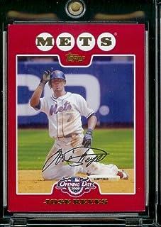 Topps 2008 'ouverture#30 Jose Reyes de Baseball MLB New York Mets cartes à jouer à visser
