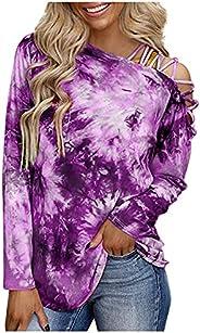Bidobibo Womens Striple Hoodie Button Up Pullover Basic Baggy Pullover Lightweight Sweatshirt for Women with D