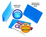 Oregon Lamination Hot Laminating Pouches IBM Card (pack of 200) 10 mil 2-5/16 x 3-1/4 Blue/Clear