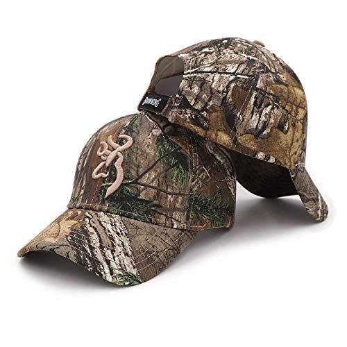 Browning Camo Baseball Cap Fishing Caps Men Outdoor Hunting Camouflage Jungle Hat Airsoft Tactical Hiking Hats