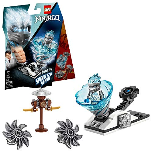 LEGO Ninjago Spinjitzu Slam - Zane 70683 Building Kit, New 2019 (63 Pieces) (Ninja Spinjitzu)