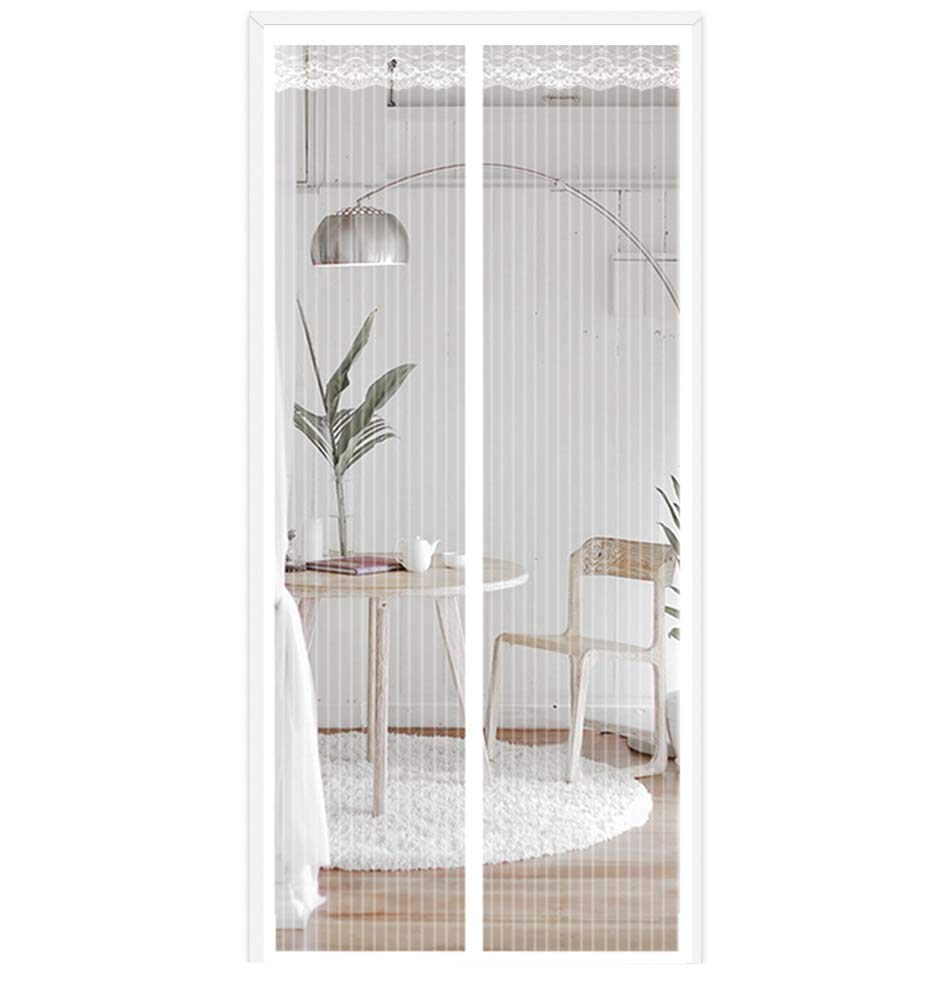Mesh Door Curtain, Magnetic Screen Door for Sliding Glass Door, Hands Free, Keeping Flies, Mosquito Out and Let Fresh Air In, 110x230cm - - Amazon.com