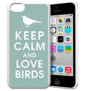 diy phone caseKeep Calm and Love Birds Pattern HD Durable Hard Plastic Case Cover for ipod touch 4 Design By GXFC Casediy phone case