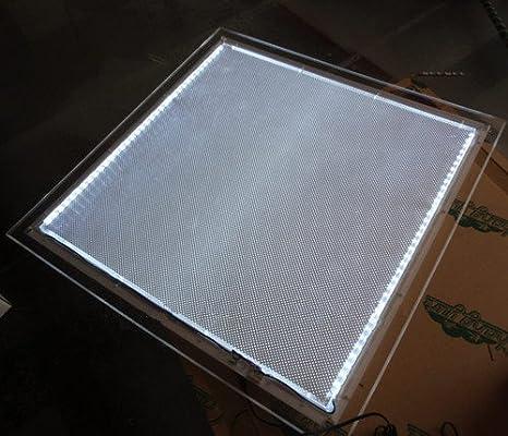 GOWE acrílico Panel LED caja de luz cristal A2 tamaño Super LED 5 ...