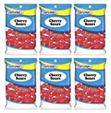 Taylors Candy 2 oz Cherry Sours Candies, 24 Count (Pack of 6)
