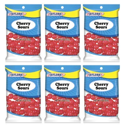 Taylors Candy 2 oz Cherry Sours Candies, 24 Count (Pack of 6) by TylrdsCn (Image #3)