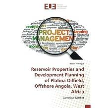 Reservoir Properties and Development Planning of Platina Oilfield, Offshore Angola, West Africa: Carrefour Market
