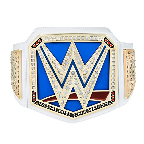 (WWE Authentic Wear Smackdown Women's Championship Toy Title Belt Gold)