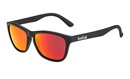 ac87d8a4c5 Amazon.com  Bollé 473 Sunglasses Matte Black Medium Unisex  Sports ...