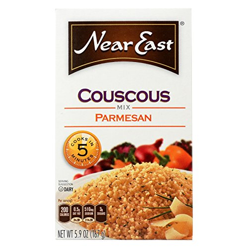 Near East Couscous Mix - Parmesan - Case of 12 - 5.9 oz. by Near East