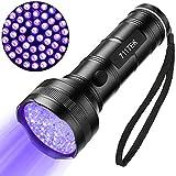 UV Flashlight Black Light, 711TEK 6063-T6 Ultra Violet 51 LED Blacklight 395-405 nm UV Detector Light for Dog Urine, Pet Stains and Bed Bug