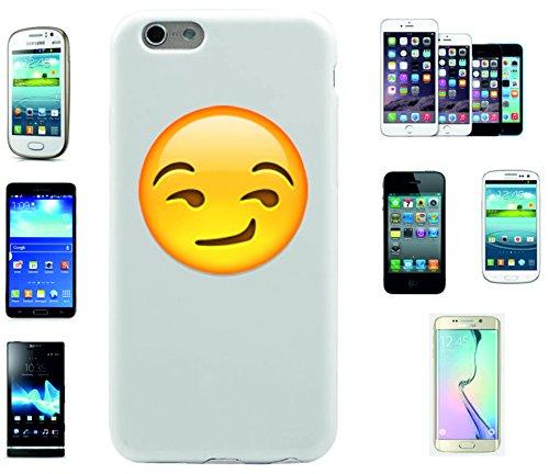 """Smartphone Case Apple IPhone 7+ Plus """"Süffisant/verschmitzt lächelndes Gesicht"""", der wohl schönste Smartphone Schutz aller Zeiten."""