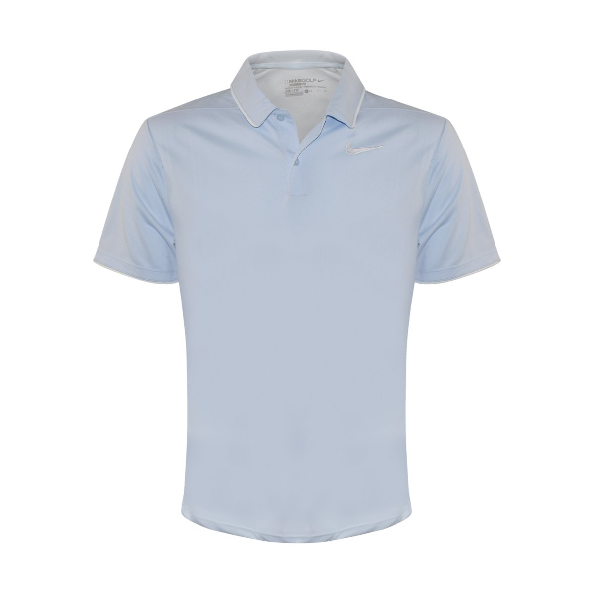 Nike Men's Dri-Fit Victory Solid Polo Light Blue 904476 466 (s)