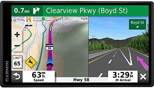 Garmin DriveSmart 55 Traffic 5.5 Display GPS Navigator with 7 EVA Case Bundle