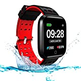 Smart Watch Fitness Tracker, JUHANG Smartwatch IP67 Waterproof Activity Tracker with Heart Rate
