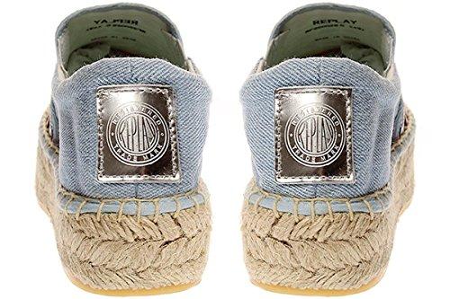 Sneaker Damen Schuhe RF220028S lt blue 2469 Slipper Replay ONESTED orange qBHxnv7