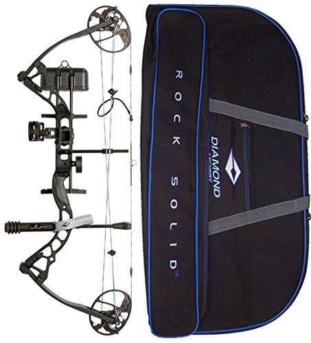 - Diamond Archery by Bowtech Infinite Edge Pro RAK Package - Right Hand Model in Black Bundle with Case