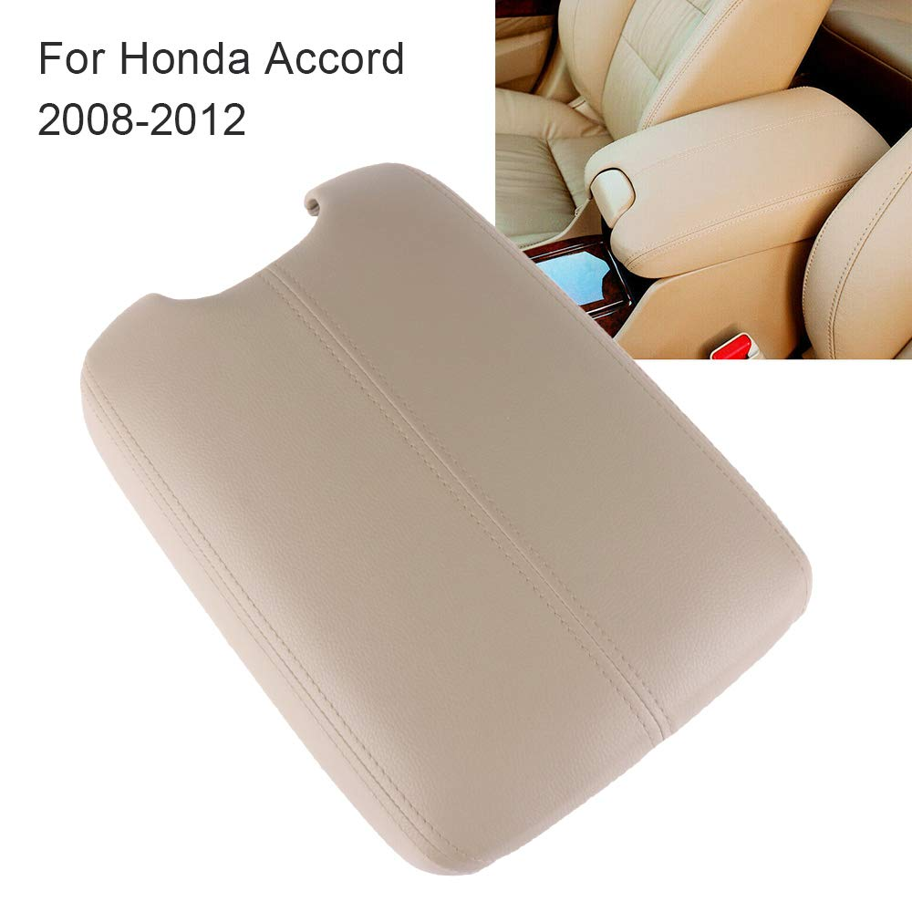 cciyu Armrest Center Console Lid Cover Base Grey Armrest Covers Replacement fit for 2008-2012 Honda Accord