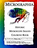 Micrographia: Historic Microscope Images Coloring Book (Historic Images) (Volume 1)