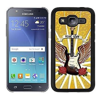 funda carcasa para Samsung Galaxy J5 2016 guitarra rock star ...