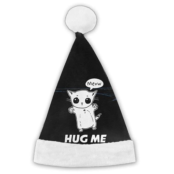 127880396ce80 Amazon.com  Hug Me Christmas Santa Cap  Clothing