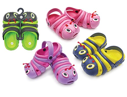 DINY Home & Style Childrens All-Weather Novelty Animal Clogs Toddler Thru Little Kid Sizes