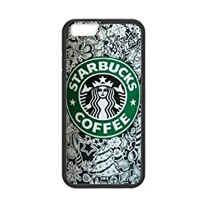 """Starbucks Coffee Pattern Productive Back Phone Case For Apple Iphone 6,4.7"""" screen Cases -Style-4"""