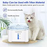 CLEEBOURG Cat Water Fountain, 2L Automatic Dog