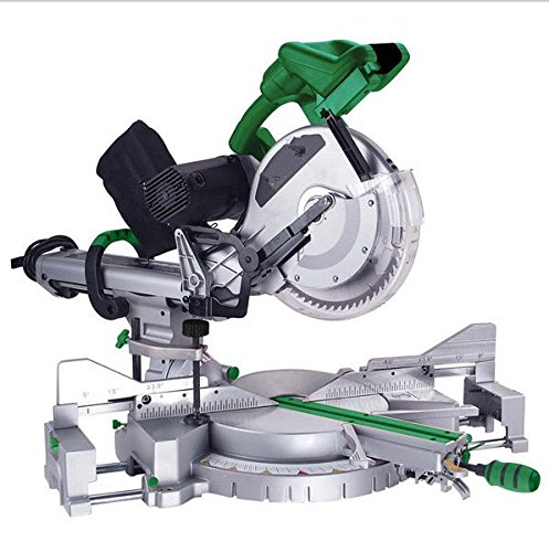 GOWE 12 inch Dual Bevel Sliding Compound Miter Saw 305mm Aluminum Saw...