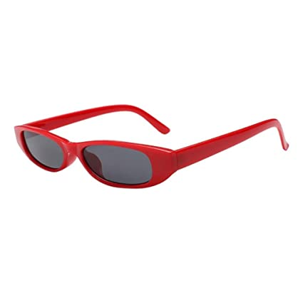 Btruely Herren Moda Gafas de Sol Retro Vintage Clout Cat Unisex Sunglasses ShadesRapper Oval