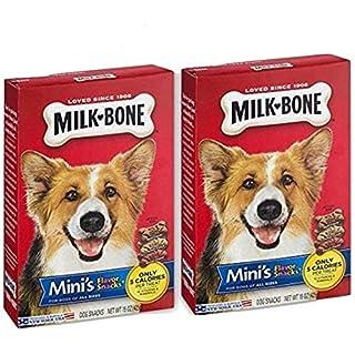 2 Pack - Milk-Bone Mini's Flavor Snacks Beef, Chicken & Bacon Flavored Biscuit Dog Treats