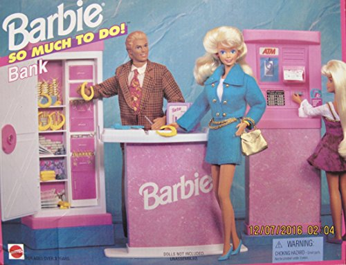 Barbie So Much To Do Bank Playset (1995 Arcotoys, Mattel) by Barbie