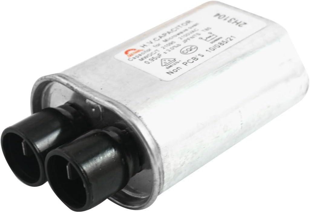 AC 2100V 0.95uF 3% b 50 / 60Hz de alto voltaje de microondas ...