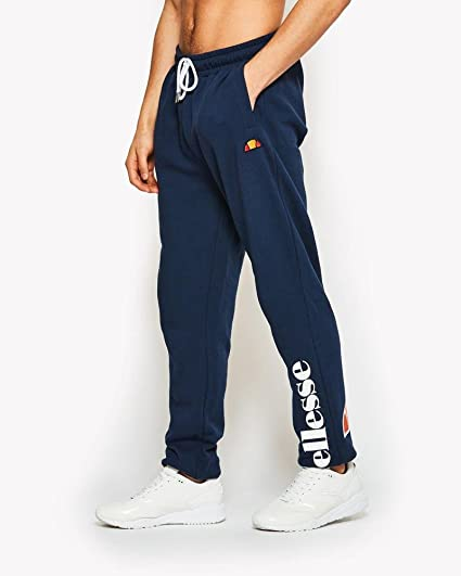 49a394f5 ellesse Cesena Sweat Pants Jogger Bottoms Navy - S (30in): Amazon.co ...