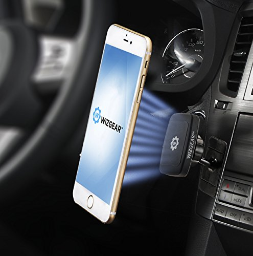 Magnetic Phone Car Mount Wizgear Universal Stick On
