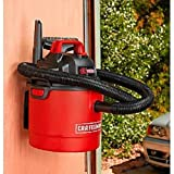 Craftsman 2.5 Gallon 2 Peak HP Wet/Dry vac (Wall Mount)