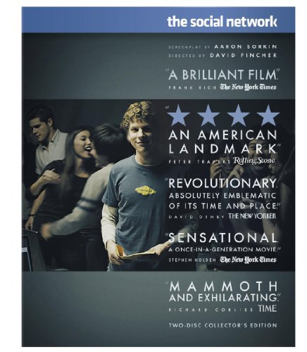 Click for larger image of The Social Network (Two-Disc Collector's Edition) [Blu-ray]