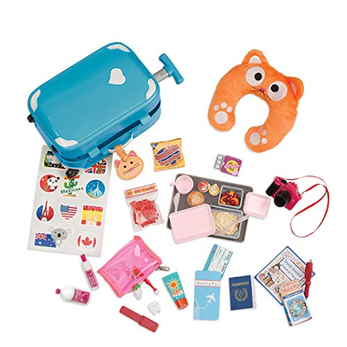 Our Generation Home Accessory - Well Travelled Luggage Set (American Girl Doll Beth)