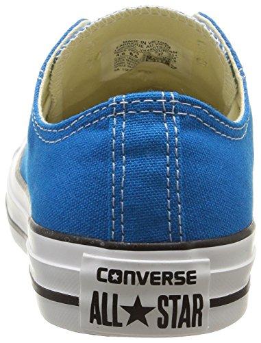 Converse Ctas Season Ox - Zapatillas de estar por casa Mujer Azul (Bleu Cyan)