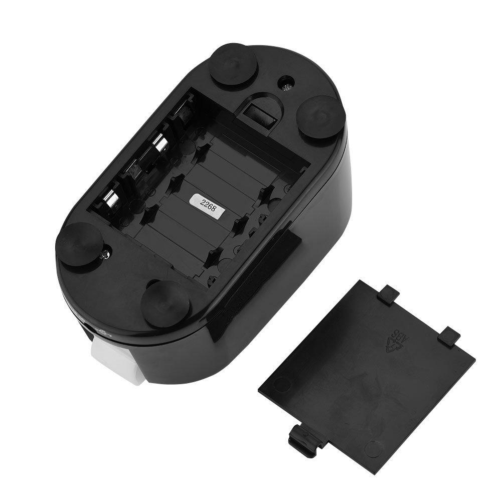 VBESTLIFE Dispensador de Cinta Adhesiva Eléctrico Automático de La Cortadora del Embalaje,Color Negro,Longitud del Preset: 0-120 mm, Banda Ancha12-22 mm: ...