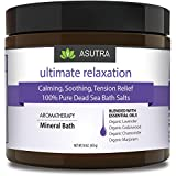 ASUTRA ULTIMATE RELAXATION - 100% Pure Dead Sea Bath Salts -...