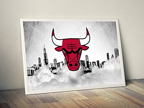 Poster Bulls Chicago Team - Chicago Bulls Limited Poster Artwork - Professional Wall Art Merchandise (More (8x10)
