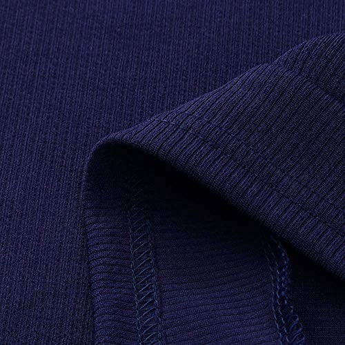8865e80b60fa Sexy Robe Manches Moulante Longues Femme Col En Hiver Navy Robes Pull  overdose Roulé Maille Solde ...