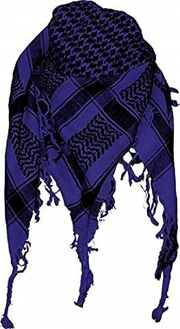 Original Palestinian Scarf - Blue Black (Palestinian Scarf For Men)