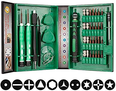 LEYONA Professional Precision Screwdriver Set Magnetic Laptop Watches Glasses 115 in 1 Precision Screwdriver Set DIY Repair Tools Kit to Fixing iPhone PC