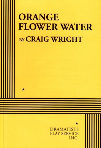 Download By Craig Wright Orange Flower Water - Acting Edition [Paperback] pdf epub