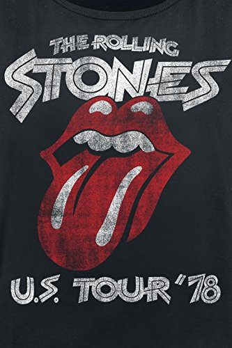 The Rolling Stones US Tour '78 Top Mujer Negro Negro